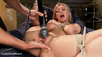 Photo number 5 from Blonde big tits, ass fucked in tight bondage shot for  on Kink.com. Featuring Mickey Mod and Dee Williams in hardcore BDSM & Fetish porn.