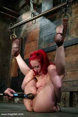 Photo number 7 from Sabrina Sparx shot for Hogtied on Kink.com. Featuring Sabrina Sparx in hardcore BDSM & Fetish porn.