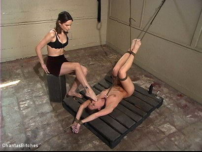 Photo number 7 from Ariel's Penance shot for Chantas Bitches on Kink.com. Featuring Amber Rayne and Ariel X in hardcore BDSM & Fetish porn.