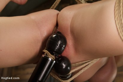 Photo number 10 from Huge Tit Blonde Bondage Slut Destroyed With Overwhelming Orgasms shot for Hogtied on Kink.com. Featuring Carissa Montgomery in hardcore BDSM & Fetish porn.