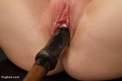 Photo number 14 from Huge Tit Blonde Bondage Slut Destroyed With Overwhelming Orgasms shot for Hogtied on Kink.com. Featuring Carissa Montgomery in hardcore BDSM & Fetish porn.