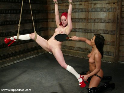 Photo number 12 from Sandra Romain and Sabrina Sparx shot for Whipped Ass on Kink.com. Featuring Sabrina Sparx and Sandra Romain in hardcore BDSM & Fetish porn.