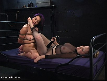 Photo number 15 from Lucky Number 7 shot for Chantas Bitches on Kink.com. Featuring January Seraph in hardcore BDSM & Fetish porn.