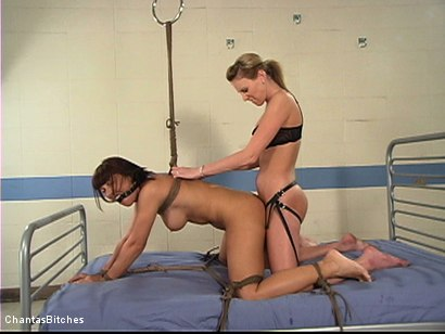 Photo number 13 from 3-Hole Testing shot for Chantas Bitches on Kink.com. Featuring Audrey Leigh and Maria Bellucci in hardcore BDSM & Fetish porn.