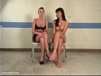 Photo number 16 from 3-Hole Testing shot for Chantas Bitches on Kink.com. Featuring Audrey Leigh and Maria Bellucci in hardcore BDSM & Fetish porn.
