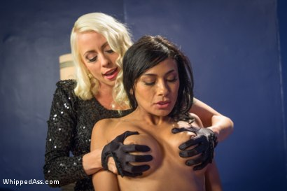 Photo number 3 from Lesbian Call Girl shot for Whipped Ass on Kink.com. Featuring Lorelei Lee and Beretta James in hardcore BDSM & Fetish porn.