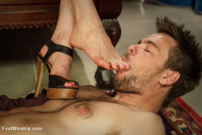 Photo number 5 from Thanksgiving FEMDOM Foot Affair shot for Foot Worship on Kink.com. Featuring Lorelei Lee and James Riker in hardcore BDSM & Fetish porn.