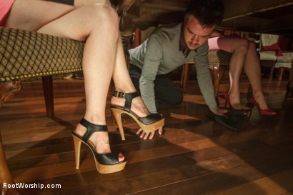 Photo number 2 from Thanksgiving FEMDOM Foot Affair shot for Foot Worship on Kink.com. Featuring Lorelei Lee and James Riker in hardcore BDSM & Fetish porn.