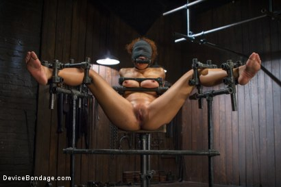 Photo number 14 from Samoan beauty with huge natural tits is tormented and fucked!!! shot for Device Bondage on Kink.com. Featuring Serena Ali in hardcore BDSM & Fetish porn.