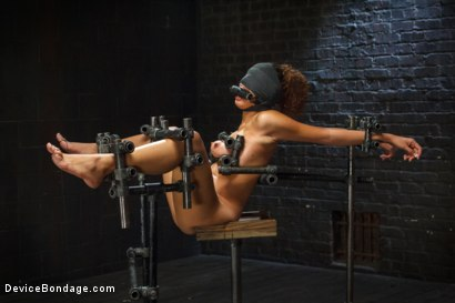 Photo number 9 from Samoan beauty with huge natural tits is tormented and fucked!!! shot for Device Bondage on Kink.com. Featuring Serena Ali in hardcore BDSM & Fetish porn.