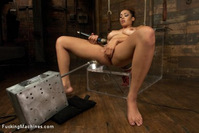Photo number 9 from Five foot ELEVEN, Big Natural Tits Creamy Dark Skin & Champion Squirter shot for Fucking Machines on Kink.com. Featuring Serena Ali in hardcore BDSM & Fetish porn.