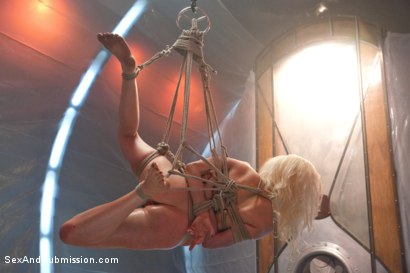 Photo number 10 from The Brutal Submission of Barbarella shot for Sex And Submission on Kink.com. Featuring Ramon Nomar and Lorelei Lee in hardcore BDSM & Fetish porn.