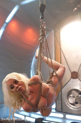 Photo number 9 from The Brutal Submission of Barbarella shot for Sex And Submission on Kink.com. Featuring Ramon Nomar and Lorelei Lee in hardcore BDSM & Fetish porn.