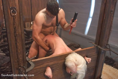 Photo number 7 from The Brutal Submission of Barbarella shot for Sex And Submission on Kink.com. Featuring Ramon Nomar and Lorelei Lee in hardcore BDSM & Fetish porn.
