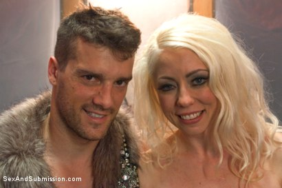 Photo number 15 from The Brutal Submission of Barbarella shot for Sex And Submission on Kink.com. Featuring Ramon Nomar and Lorelei Lee in hardcore BDSM & Fetish porn.