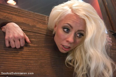 Photo number 8 from The Brutal Submission of Barbarella shot for Sex And Submission on Kink.com. Featuring Ramon Nomar and Lorelei Lee in hardcore BDSM & Fetish porn.