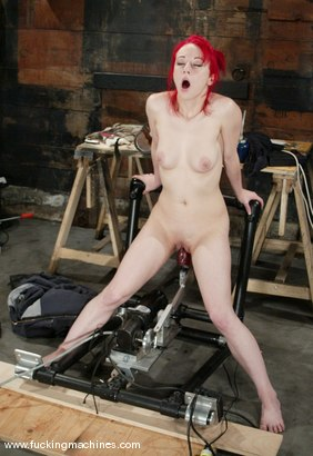 Photo number 2 from Sabrina Sparx shot for Fucking Machines on Kink.com. Featuring Sabrina Sparx in hardcore BDSM & Fetish porn.