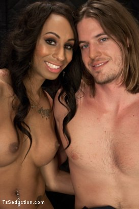 Photo number 15 from Hot Huge Cock Sex in an Elevator with TS Honey FoXXX shot for TS Seduction on Kink.com. Featuring Honey FoXXX and Kip Johnson in hardcore BDSM & Fetish porn.