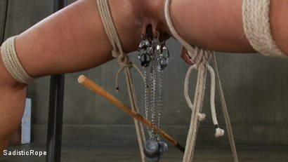 Photo number 2 from Extreme Bondage, Water Boarding, Evil Torment, & Intense Orgasms!! shot for Sadistic Rope on Kink.com. Featuring Nikki Darling in hardcore BDSM & Fetish porn.