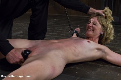 Photo number 10 from Tormenting the New Girl!-Brutal Devices, Heavy Impact, Uncontrollable Orgasms!!! shot for Device Bondage on Kink.com. Featuring Mona Wales in hardcore BDSM & Fetish porn.