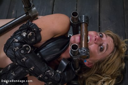 Photo number 8 from Tormenting the New Girl!-Brutal Devices, Heavy Impact, Uncontrollable Orgasms!!! shot for Device Bondage on Kink.com. Featuring Mona Wales in hardcore BDSM & Fetish porn.