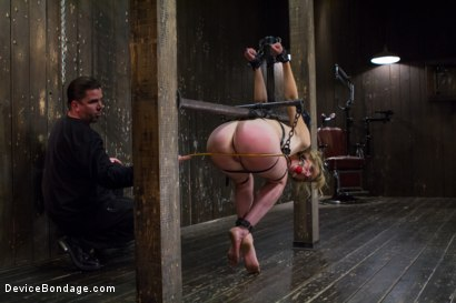 Photo number 3 from Tormenting the New Girl!-Brutal Devices, Heavy Impact, Uncontrollable Orgasms!!! shot for Device Bondage on Kink.com. Featuring Mona Wales in hardcore BDSM & Fetish porn.