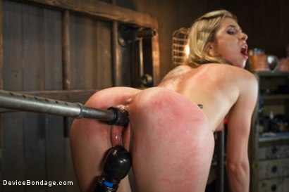 Photo number 6 from <strong>Fresh Meat</strong><br>Young blonde slut tormented by Orlando shot for Device Bondage on Kink.com. Featuring Orlando and Tysen Rich in hardcore BDSM & Fetish porn.