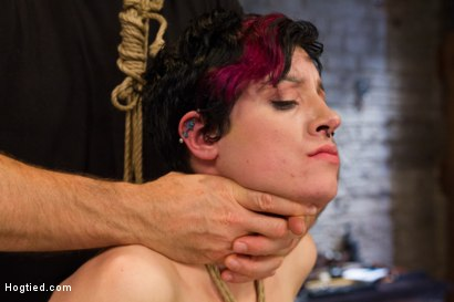 Photo number 10 from Requests Fulfilled: Impossible Bondage Positions shot for Hogtied on Kink.com. Featuring Iona Grace in hardcore BDSM & Fetish porn.