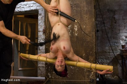 Photo number 14 from Requests Fulfilled: Impossible Bondage Positions shot for Hogtied on Kink.com. Featuring Iona Grace in hardcore BDSM & Fetish porn.