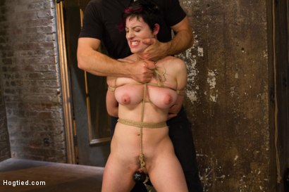 Photo number 12 from Requests Fulfilled: Impossible Bondage Positions shot for Hogtied on Kink.com. Featuring Iona Grace in hardcore BDSM & Fetish porn.