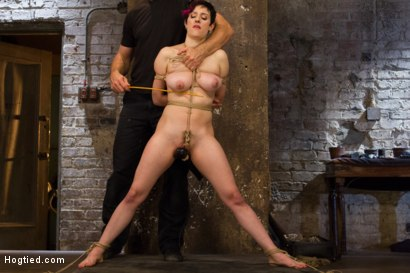 Photo number 9 from Requests Fulfilled: Impossible Bondage Positions shot for Hogtied on Kink.com. Featuring Iona Grace in hardcore BDSM & Fetish porn.