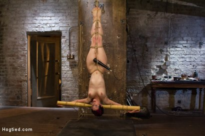 Photo number 13 from Requests Fulfilled: Impossible Bondage Positions shot for Hogtied on Kink.com. Featuring Iona Grace in hardcore BDSM & Fetish porn.