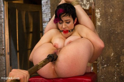 Photo number 7 from Requests Fulfilled: Impossible Bondage Positions shot for Hogtied on Kink.com. Featuring Iona Grace in hardcore BDSM & Fetish porn.