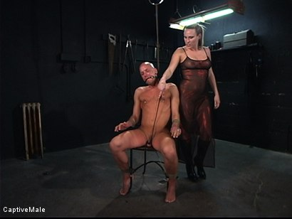 Photo number 1 from The Strict Mistress shot for Captive Male on Kink.com. Featuring Harmony and Chad Rock in hardcore BDSM & Fetish porn.