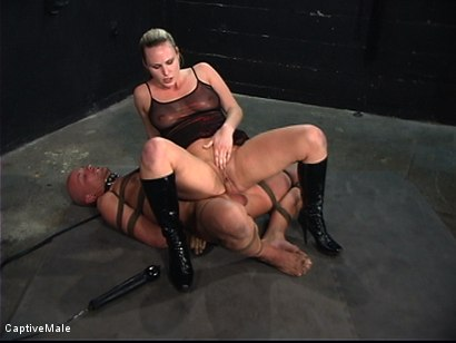 Photo number 9 from The Strict Mistress shot for Captive Male on Kink.com. Featuring Harmony and Chad Rock in hardcore BDSM & Fetish porn.