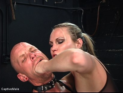 Photo number 11 from The Strict Mistress shot for Captive Male on Kink.com. Featuring Harmony and Chad Rock in hardcore BDSM & Fetish porn.