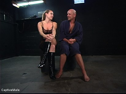 Photo number 15 from The Strict Mistress shot for Captive Male on Kink.com. Featuring Harmony and Chad Rock in hardcore BDSM & Fetish porn.