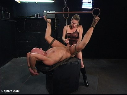 Photo number 16 from The Strict Mistress shot for Captive Male on Kink.com. Featuring Harmony and Chad Rock in hardcore BDSM & Fetish porn.