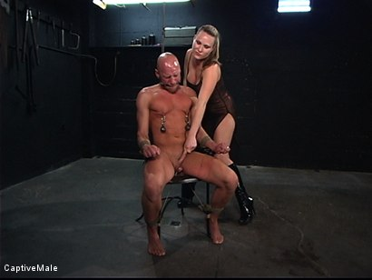 Photo number 3 from The Strict Mistress shot for Captive Male on Kink.com. Featuring Harmony and Chad Rock in hardcore BDSM & Fetish porn.
