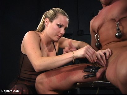 Photo number 4 from The Strict Mistress shot for Captive Male on Kink.com. Featuring Harmony and Chad Rock in hardcore BDSM & Fetish porn.
