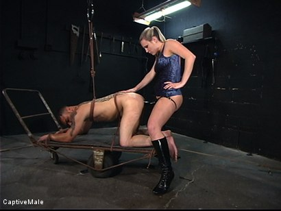 Photo number 12 from Hard Challenges shot for Captive Male on Kink.com. Featuring Rico and Harmony in hardcore BDSM & Fetish porn.