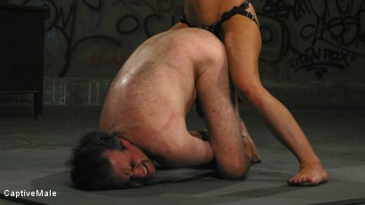 Photo number 10 from An Arrogant Principal shot for Captive Male on Kink.com. Featuring Les Moore and Lexi Belle in hardcore BDSM & Fetish porn.