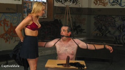Photo number 1 from An Arrogant Principal shot for Captive Male on Kink.com. Featuring Les Moore and Lexi Belle in hardcore BDSM & Fetish porn.