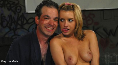 Photo number 14 from An Arrogant Principal shot for Captive Male on Kink.com. Featuring Les Moore and Lexi Belle in hardcore BDSM & Fetish porn.