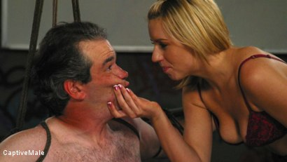 Photo number 2 from An Arrogant Principal shot for Captive Male on Kink.com. Featuring Les Moore and Lexi Belle in hardcore BDSM & Fetish porn.