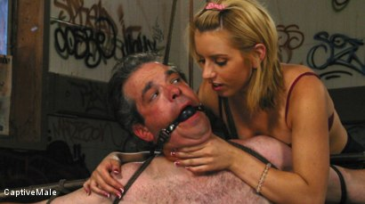 Photo number 4 from An Arrogant Principal shot for Captive Male on Kink.com. Featuring Les Moore and Lexi Belle in hardcore BDSM & Fetish porn.