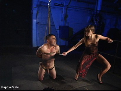 Photo number 1 from Extraordinary Pain shot for Captive Male on Kink.com. Featuring Rico and Nika Noire in hardcore BDSM & Fetish porn.