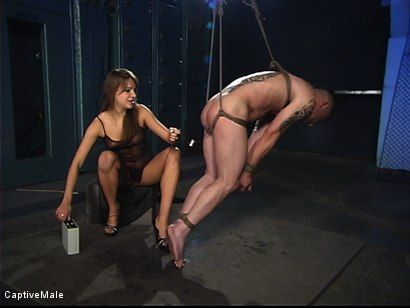 Photo number 10 from Extraordinary Pain shot for Captive Male on Kink.com. Featuring Rico and Nika Noire in hardcore BDSM & Fetish porn.