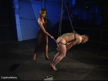 Photo number 9 from Extraordinary Pain shot for Captive Male on Kink.com. Featuring Rico and Nika Noire in hardcore BDSM & Fetish porn.