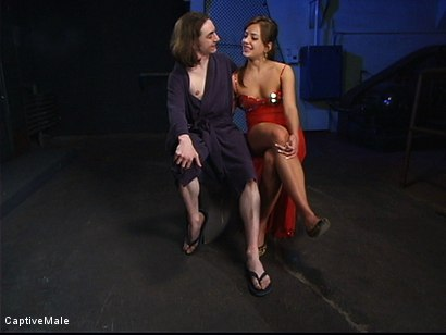 Photo number 2 from Pavlovian Training shot for Captive Male on Kink.com. Featuring Kade and Nika Noire in hardcore BDSM & Fetish porn.